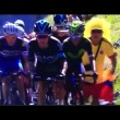 YOUTUBE Tour de France, Chris Fromme dà pugno a tifoso