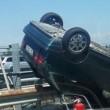 Udine, incidenti in tangenziale: tamponamento tra auto, motocilista contro guardrail