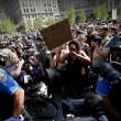 Cleveland, tensioni fuori sede convention: arresti e 2 poliziotti feriti04