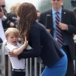 Kate Middleton, piccolo George piange
