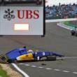 YOUTUBE Marcus Ericsson, incidente prove Gran Premio Silverstone4