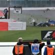 YOUTUBE Marcus Ericsson, incidente prove Gran Premio Silverstone2