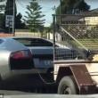 Lamborghini trasporta capre col rimorchio2