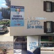 """Lazio, """"Lotito boia infame, vattene!"""": nuove scritte al ritiro"""