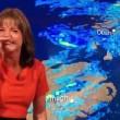 Annunciatrice meteo non riesce a smettere di ridere in diretta5