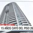 Colombia, cade dal 26esimo piano hotel e si salva