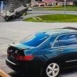 Florida, auto si ribalta quattro volte conducente sopravvive4