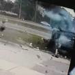 Florida, auto si ribalta quattro volte conducente sopravvive1