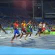 Rio 2016: Jeffrey Julmis si atteggia alla Usain Bolt2