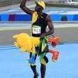 YOUTUBE Rio 2016, Usain Bolt re dei 100 metri per la terza volta consecutiva 13
