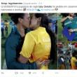 Rio 2016, bacio gay e richiesta matrimonio a bordo campo