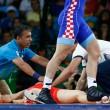 Rio 2016, lottatore russo perde i sensi si riprende e vince oro6