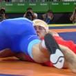 Rio 2016, lottatore russo perde i sensi si riprende e vince oro5