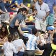 Rio 2016, rissa tra tifosi: interrotto incontro di tennis3