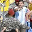 Rio 2016, rissa tra tifosi: interrotto incontro di tennis