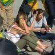Rio 2016, telecamera sospesa crolla su spettatori 6