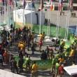 Rio 2016, telecamera sospesa crolla su spettatori 4