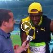 "Rio 2016, Usain Bolt canta ""One Love"" di Bob Marley"