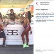 "Arianna Polgatti ""Aryfashion"": Miss Muretto 2008 con Salvini e Toti al Papeete Beach (Instagram)"