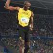 """Rio 2016, Usain Bolt: il """"mistero"""" dei fogliettini a fine gara"""