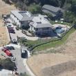 Chris Brown, polizia circonda la casa dopo chiamata al 911 di una donna04