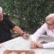 Vittorio Sgarbi vede Beppe Grillo, parte Movimento 7 Stelle...