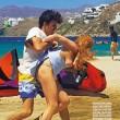 Lindsay Lohan aggredita in spiagga da Egor Tarabasov4