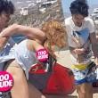 Lindsay Lohan aggredita in spiagga da Egor Tarabasov