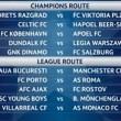 Champions League sorteggio, la Roma pesca il Porto