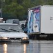 Mosca, non pioveva così da 130 anni: strade e auto sommerse6