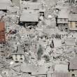 Terremoto Amatrice, il palazzo rimasto solo: intorno tutti caduti FOTO