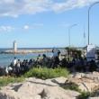 Ventimiglia, migranti sfondano confine: a nuoto fino in Francia, occupano scogliera10