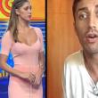 Striscia La Notizia, Belen imbarazzata: dichiarazione in diretta di Andrea Iannone