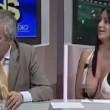 YOUTUBE Marika Fruscio fuori di seno in diretta, video finisce su Daily Mail 02