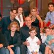 Berlusconi con i nipoti su Chi