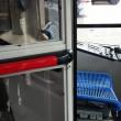 Napoli, cabine blindate sui bus come sugli aerei03