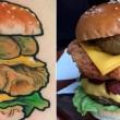 Tatuaggio con hamburger su menù, fast food ti regala panini a vita3
