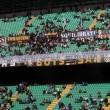 """Icardi, ultras Curva Nord Inter sotto casa. Striscione: """"Quando arrivano tuoi amici argentini ci avverti?"""" 02"""