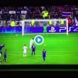 VIDEO - Buffon para rigore a Lacazette in Lione-Juventus
