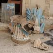 Isis, croci spezzata e statua della Madonna in frantumi nella chiesa di Bartella 5