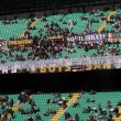 """Inter, striscione Curva Nord: """"Mauro Icardi vile merdaccia"""""""