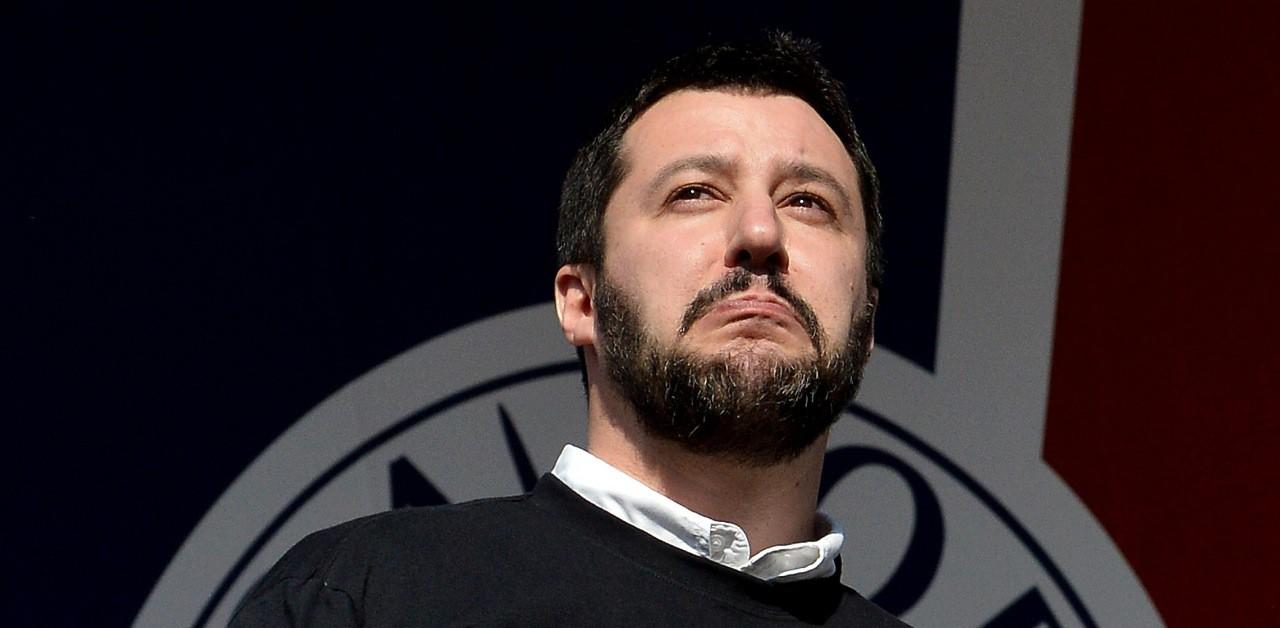 """Matteo Salvini: """"Ignazio Abate titolare del Milan è come la Boldrini..."""""""