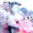 Fabbrica fuochi artificio in fiamme esplode: pompieri fuggono5