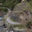 Nuova Zelanda, effetti terremoto voragini sulle montagne2