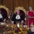 Theresa May parla al banchetto dei Lord di Londra, gli ospiti dormono4