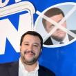 Matteo Salvini srotola striscione per il No a Mosca e rischia arresto05