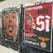 """Referendum: """"Nazisti per il SÌ"""", manifesti a Roma (Pigneto e Torpignattara) FOTO 3"""