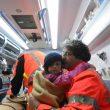 bimbi salvati arrivano in ospedale5