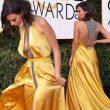 Emily Ratajkowski ai Golden Globe: abito quasi nude look FOTO