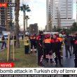 YOUTUBE Terrorismo Smirne, il video dell'autobomba che esplode 5